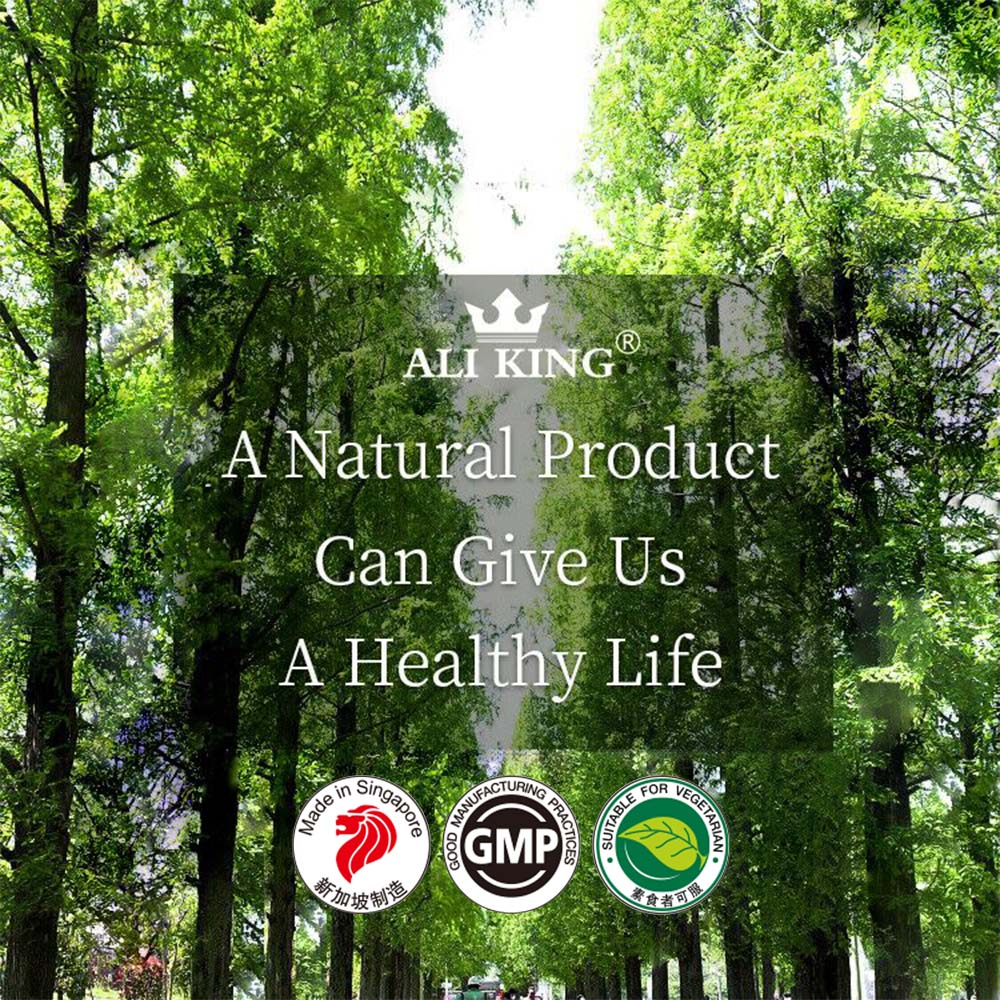 Ali King Natural Products Mobile Banner